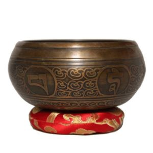 Viswa Vajra (Cross Thunderbolt) Tibetan Singing Bowl