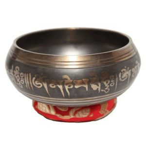 Various Tibetan Symbol Singing Bowl