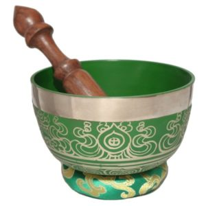 Seven metal Tibetan Singing Bowl